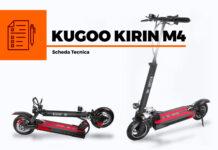 Kugoo Kirin M4 scheda tecnica monopattino